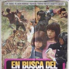 Cinéma: EN BUSCA DEL DRAGON DORADO JESUS JESS FRANCO POE POSTER. Lote 17723211
