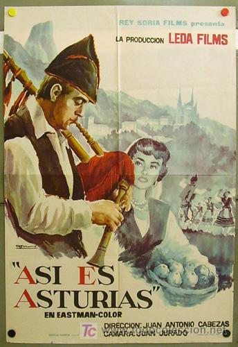 FB21 ASI ES ASTURIAS DOCUMENTAL POSTER ORIGINAL 70X100 ESTRENO (Cine - Posters y Carteles - Documentales)