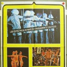 Cine: FB41 MUNDO DE NOCHE HOY DOCUMENTAL GAY POSTER ORIGINAL 70X100 ESTRENO. Lote 9490362