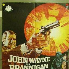 Kino - FC06 BRANNIGAN JOHN WAYNE POSTER ORIGINAL 70X100 ESTRENO - 9469896