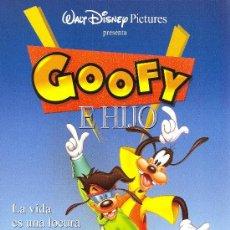 Cine: CARTEL DE CINE GOOFY E HIJO. Lote 20010177