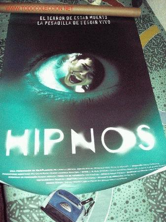 POSTER PELICULA HIPNOS 70 X 100 CMS (Cine - Posters y Carteles)