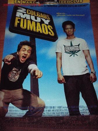 POSTER DE LA PELICULA 2 COLGAOS MUY FUMAOS 68 X 98 CMS (Cine - Posters y Carteles)