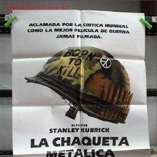 Cine: LA CHAQUETA METALICA. Lote 209878137
