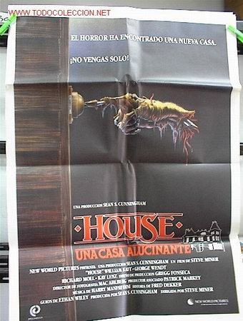 HOUSE (Cine - Posters y Carteles - Terror)