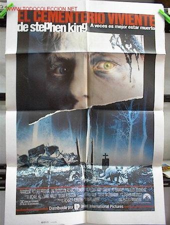 EL CEMENTERIO VIVIENTE (Cine - Posters y Carteles - Terror)