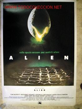 ALIEN - EDICIÓN ITALIANA. PRINTING WORLD INTERNACIONAL- ROMA. (Cine - Posters y Carteles - Ciencia Ficción)