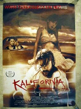 KALIFORNIA EL MIEDO NUNCA VIAJA SOLO (Cine - Posters y Carteles - Terror)