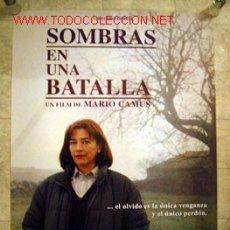 Cine: SOMBRAS EN UNA BATALLA UN FILM DE MARIO CAMUS CON CARMEN MAURA. Lote 13861872