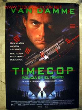 TIMECOP (POLICIA EN EL TIEMPO) VAN DAMME (Cine - Posters y Carteles - Acción)