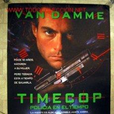 Cine: TIMECOP (POLICIA EN EL TIEMPO) VAN DAMME. Lote 3619231
