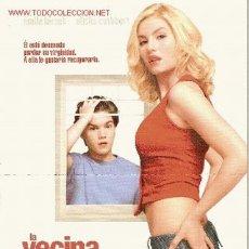 Cine: 'LA VECINA DE AL LADO', CON ELISHA CUTHBERT. TAMAÑO FOLIO.. Lote 22172947