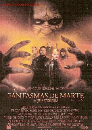 'FANTASMAS DE MARTE', DE JOHN CARPENTER. TAMAÑO FOLIO. (Cine - Posters y Carteles - Terror)