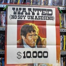 Cine: WANTED , NO SOY UN ASESINO. Lote 5766018