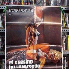 Cine: EL ASESINO HA RESERVADO NUEVE BUTACAS. Lote 8063692
