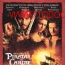 Cine: 'PIRATAS DEL CARIBE', CON JOHNNY DEPP. DE DISNEY PICTURES.. Lote 9795535