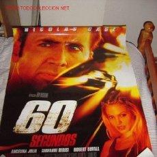 Cine: '60 SEGUNDOS', CON NICOLAS CAGE Y ANGELINA JOLIE.. Lote 24310293