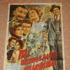 Cine: MI BUENOS AIRES QUERIDO (1962). Lote 26153238