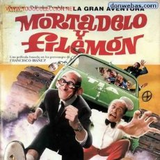 Cine: 'LA GRAN AVENTURA DE MORTADELO Y FILEMÓN'.. Lote 23169725