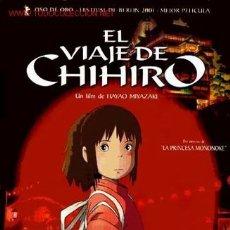 Cine: 'EL VIAJE DE CHIHIRO'. JAPÓN. ANIMACIÓN.. Lote 24482089