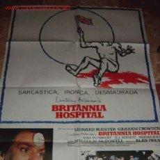 Cine: 'BRITANNIA HOSPITAL', CON MALCOLM MCDOWELL.. Lote 21548566