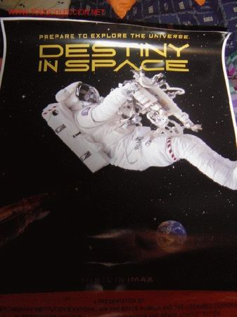 'DESTINY IN SPACE'. FILMADO EN FORMATO IMAX 70 MM. (Cine - Posters y Carteles - Documentales)