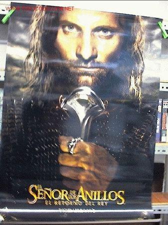 EL SEÑOR DE LOS ANILLOS , EL RETORNO DEL REY . ORIGINAL (Cine - Posters y Carteles - Aventura)