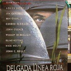 Cinema: LA DELGADA LINEA ROJA. ORIGINAL. Lote 2518564