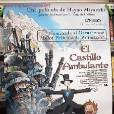 Cine: EL CASTILLO AMBULANTE, DIBUJITOS ORIGINAL. Lote 179199876