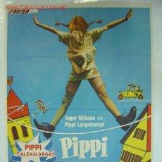 Cine: PIPPI LO PASA PIPA.- PIPPI CALZASLARGAS - AÑO 1975. Lote 27575440