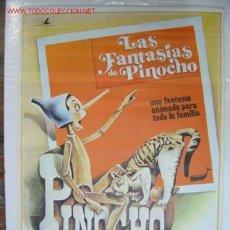 Cine: LAS FANTASIAS DE PINOCHO - AÑO 1979. Lote 20120562