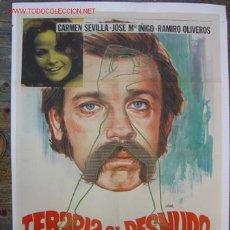 Cine: TERAPIA AL DESNUDO - CARMEN SEVILLA, JOSE Mª IÑIGO - ILUSTRADOR: JANO. Lote 24975498