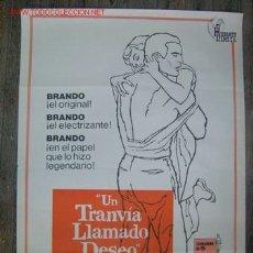 Cine: UN TRANVIA LLAMADO DESEO - MARLON BRANDO, VIVIEN LEIGH - AÑO 1973. Lote 116594264