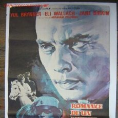 Cine: ROMANCE DE UN LADRON DE CABALLOS - YUL BRYNNER, ELI WALLACH. Lote 27114712