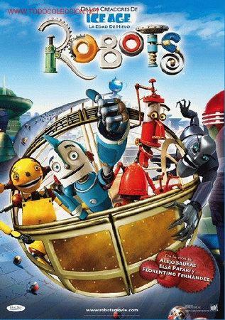 'ROBOTS'. ANIMACIÓN. (Cine - Posters y Carteles - Infantil)