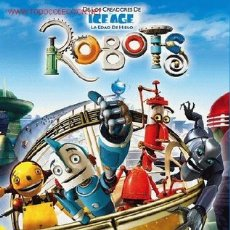 Cine: 'ROBOTS'. ANIMACIÓN.. Lote 17527248