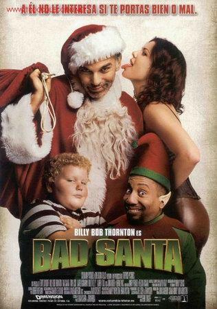 'BAD SANTA', CON BILLY BOB THORTON. (Cine - Posters y Carteles - Comedia)