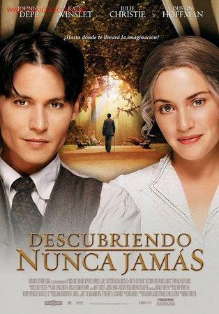 'DESCUBRIENDO NUNCA JAMÁS', CON JOHNNY DEPP Y DUSTIN HOFFMAN. (Cine- Posters y Carteles - Drama)