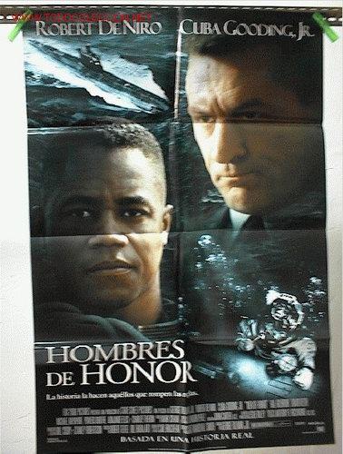 HOMBRES DE HONOR (Cine - Posters y Carteles - Aventura)