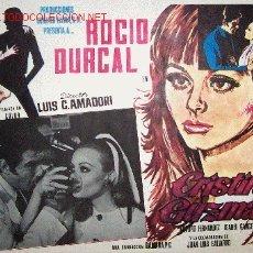 Cine: ROCIO DURCAL - CRISTINA GUZMAN - ARTURO FERNANDEZ - ISABEL GARCES - LOBBY CARD ORIGINAL MEXICANO. Lote 18921725