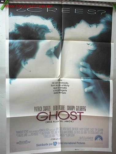 GHOST (Cine- Posters y Carteles - Drama)