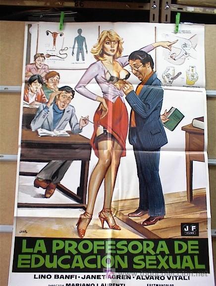 LA PROFESORA DE EDUCACION SEXUAL (Cine - Posters y Carteles)
