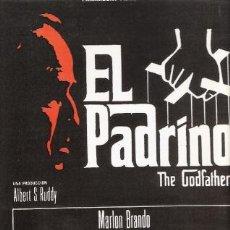 Cine: EL PADRINO MINI POSTER LAMINA CARTULINA 32 X 23 MARLON BRANDO,NO ORIGINAL. Lote 14853256