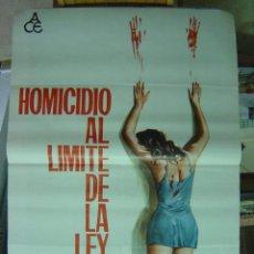 Cine: HOMICIDIO AL LIMITE DE LA LEY - AÑO 1972 - ELGA ANDERSEN - ILUSTR.: JANO. Lote 9889498