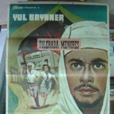 Cine: FUGA DE ZAHRAIN - AÑO 1963 - YUL BRYNNER, SAL MINEO - ILUSTR.: MCP. Lote 9894861