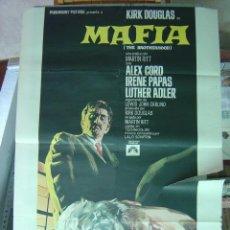 Cine: MAFIA - AÑO 1969 - KIRK DOUGLAS - ILUSTR.: JANO. Lote 9896154
