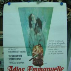 Cine: ADIOS, EMMANUELLE - SYLVIA KRISTEL - AÑO 1978. Lote 9914250