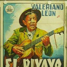 Cine: FC46 EL PIYAYO VALERIANO LEON LUIS LUCIA PERIS ARAGO CIFESA POSTER ORIGINA ESTRENO 70X100 LITOGRAFIA. Lote 14158117