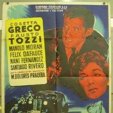 Cine: FC79 LA CIUDAD PERDIDA COSETTA GRECO MANOLO MORAN SOLIGO POSTER ORIGINAL 70X100 ESTRENO LITOGRAFIA. Lote 9947319