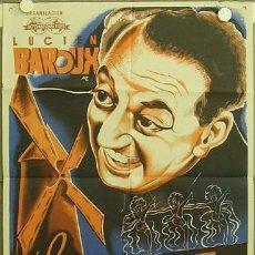 Cine: YC70D LA ALEGRIA DE VIVIR MOULIN ROUGE LUCIEN BAROUX POSTER ORIGINAL 70X100 ESTRENO LITOGRAFIA. Lote 18291788